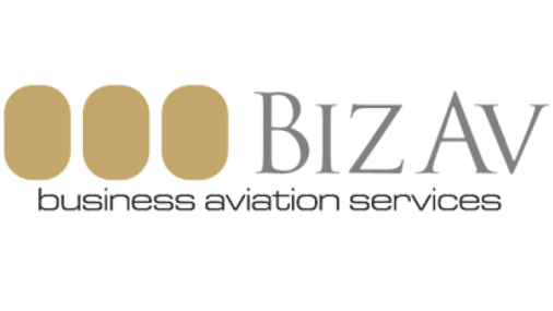 bizav logo aviation services provider