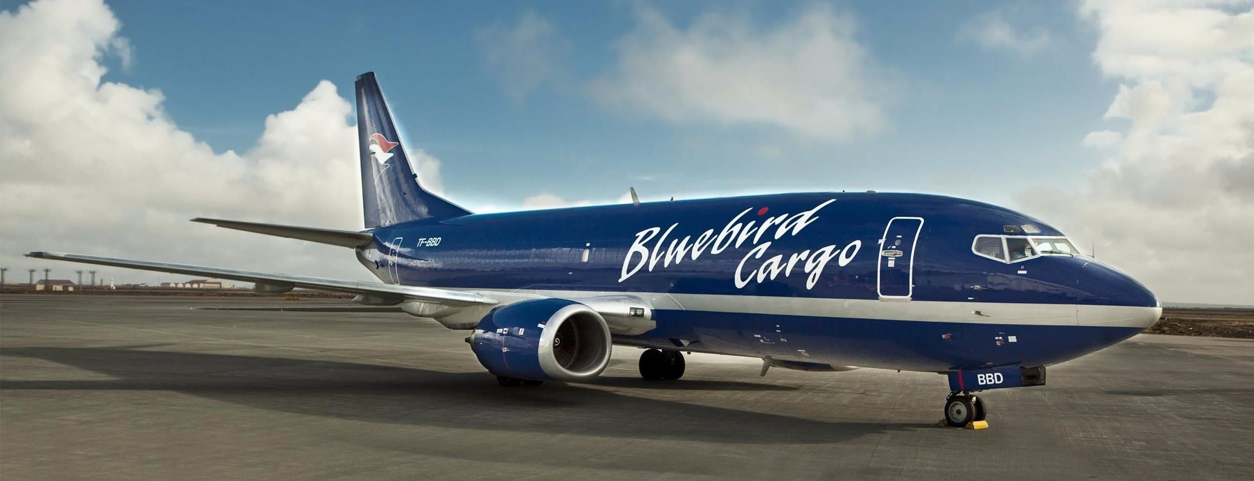 Bluebird Cargo transport airplane