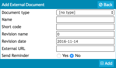 add external document web manuals