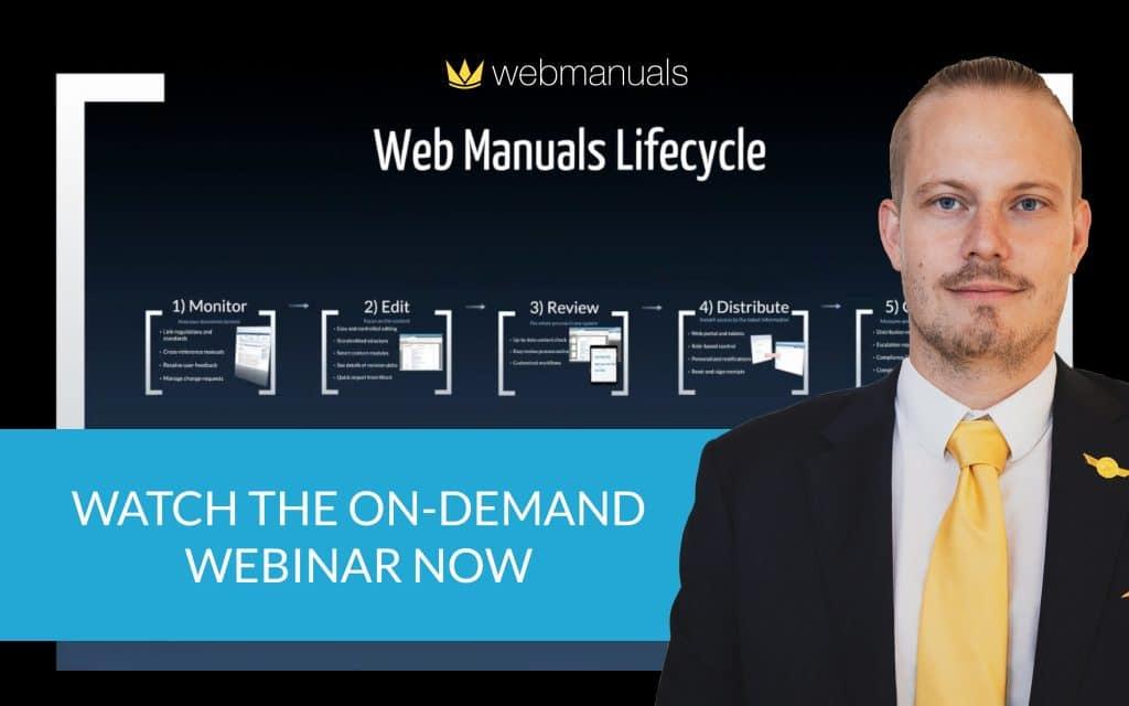 web manuals webinar