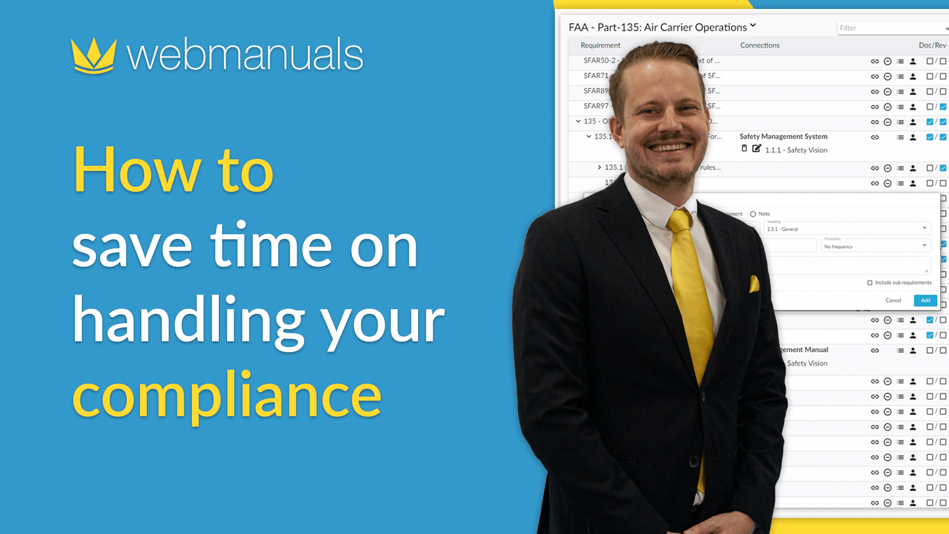 how to save time handling your aviation compliance