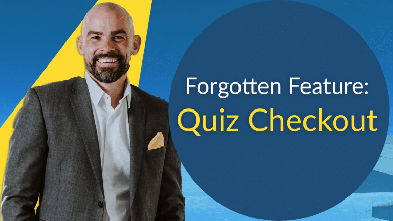 Web Manuals quiz checkout feature how to do