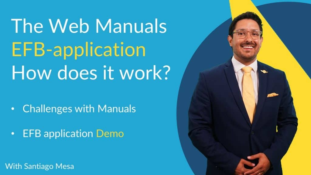 Web Manuals EFB webinar how does the EFB-application work? app