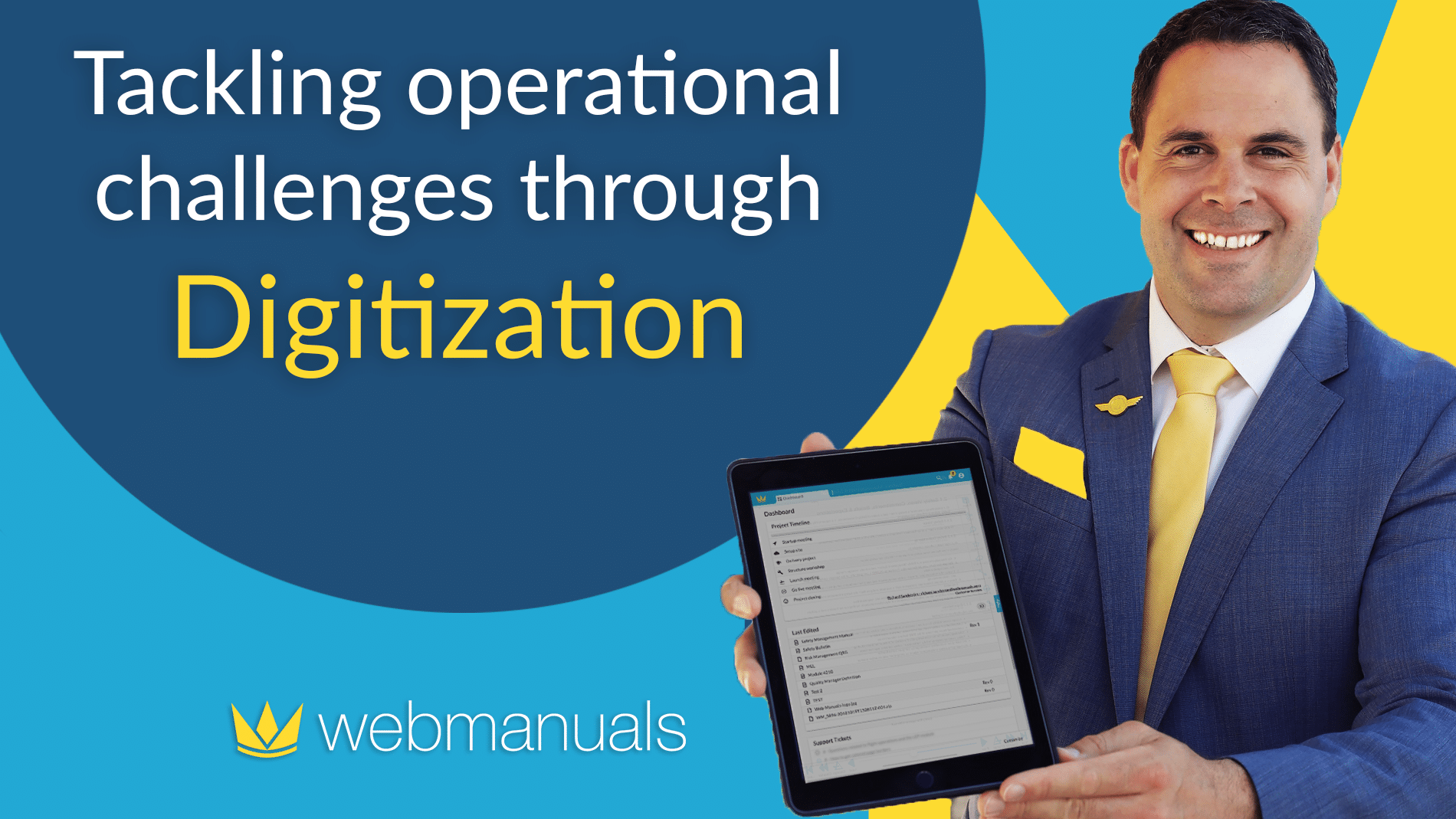 Tackling operational challenges through digitization
