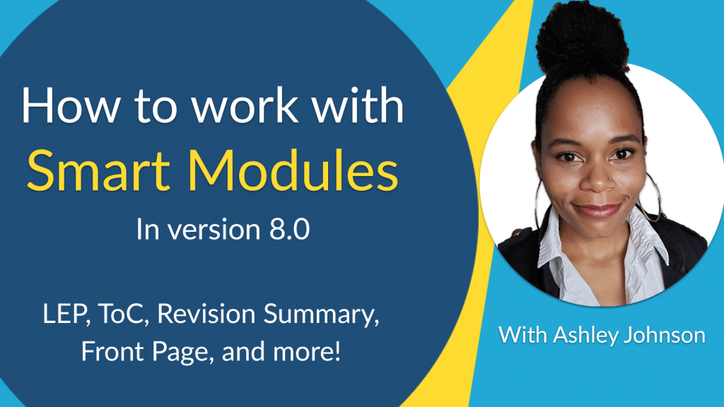 Ashley Johnson Webinar working with web manuals version 8 smart modules