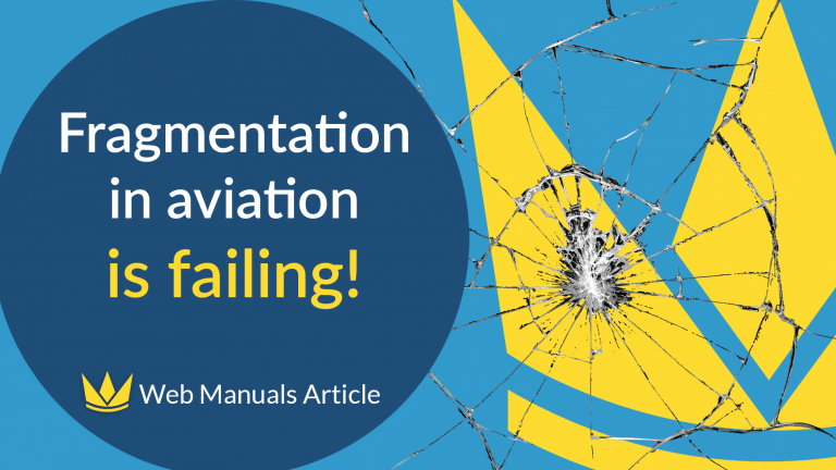 Fragmentation in aviation is failing blogpost