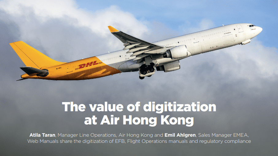 Case Study Air Hong Kong Digitization of Aviation Manuals