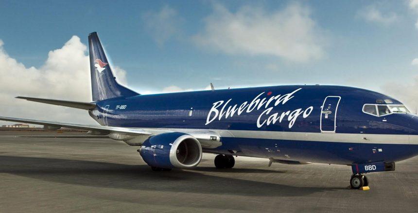 Bluebird Cargo transport airplane