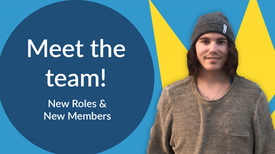 meet the team - new intern and new roles
