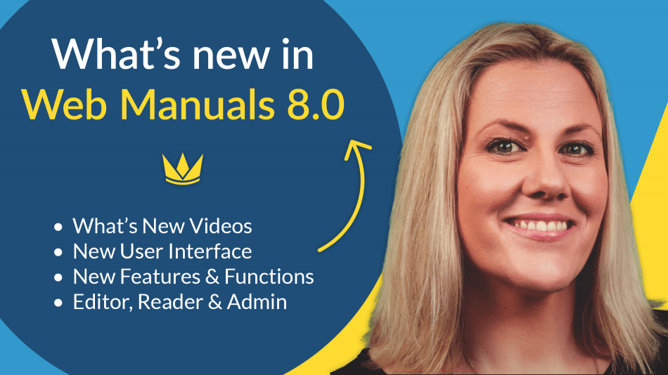 whats new in webmanuals 8.0 with jody bight videos differences between 7 and 8