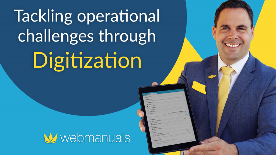 Tackling operational challenges through digitization