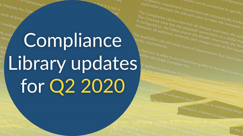 compliance libraries updates q2