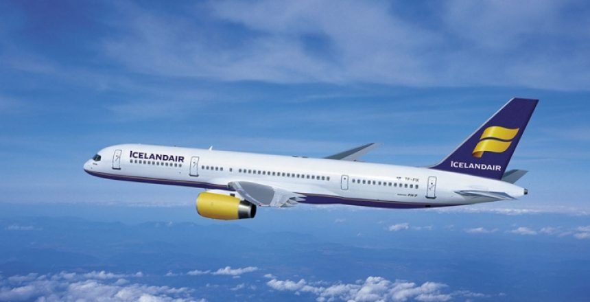 Icelandair Boeing 757 plane