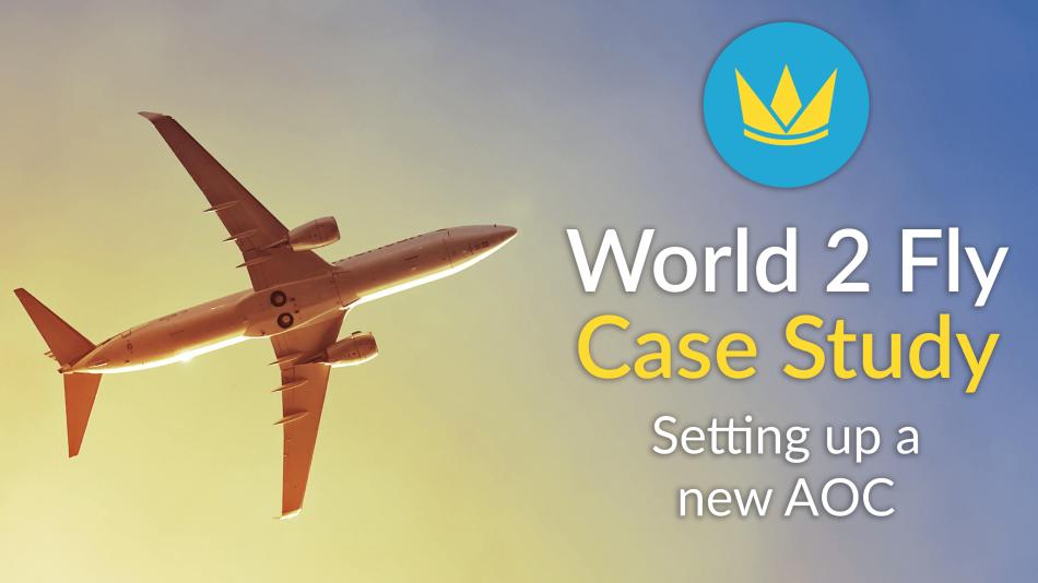 world 2 fly case study new aoc